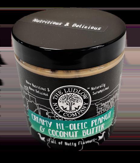 Creamy Hi-Oleic Peanut & Coconut Butter - 250g