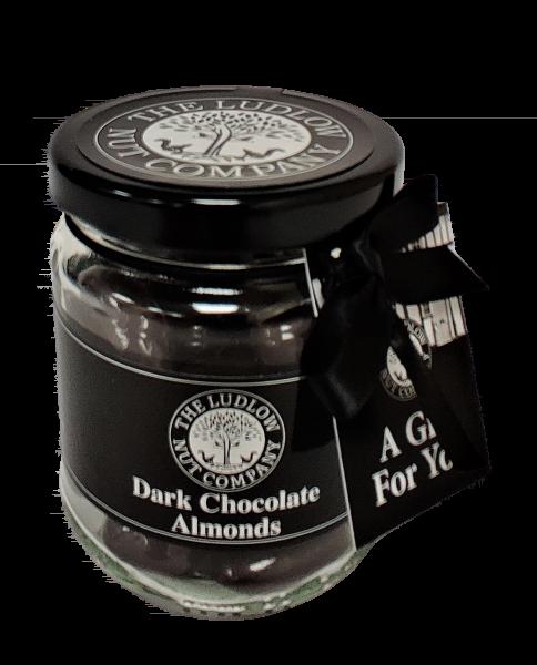 Gift Jars - Dark Chocolate Almonds - 125g