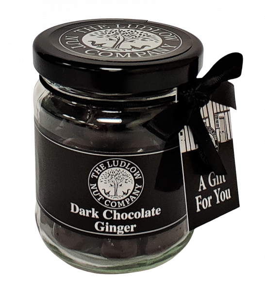 Dark Chocolate Ginger Victorian Gift Jar