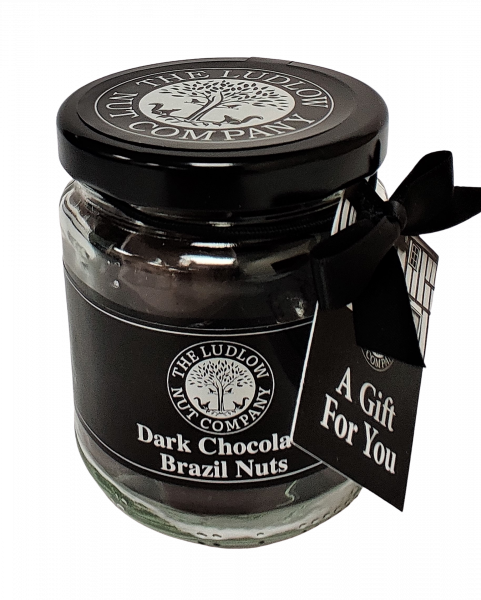 Gift Jars - Dark Chocolate Brazil Nuts - 125g