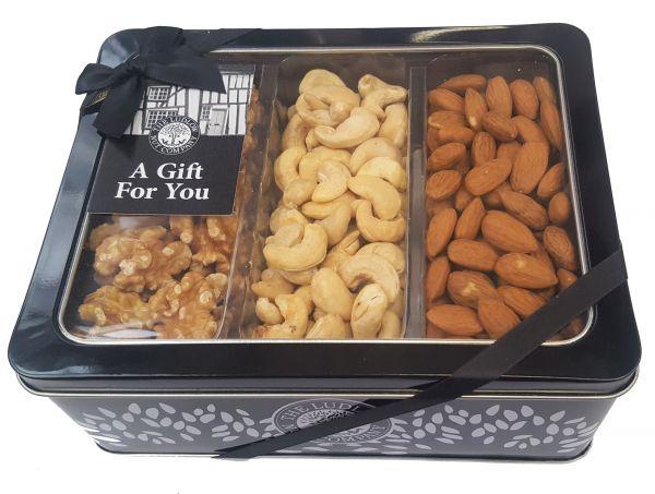 Luxury Gift Tin - Whole Nut Selection - 550g