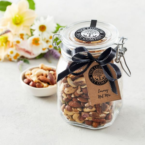 Large Gift Jar - Luxury Nut Mix - 600g