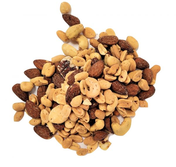Roasted and Salted Nut Mix (with peanuts) - 1kg