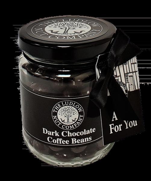 Gift Jars - Dark Chocolate Coffee Beans - 125g